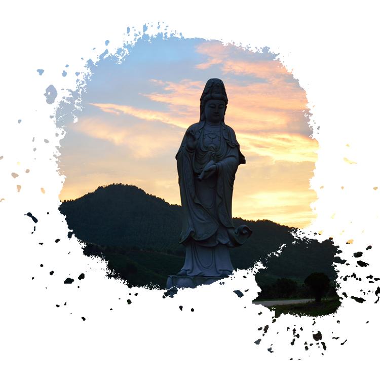 园中观音菩萨像